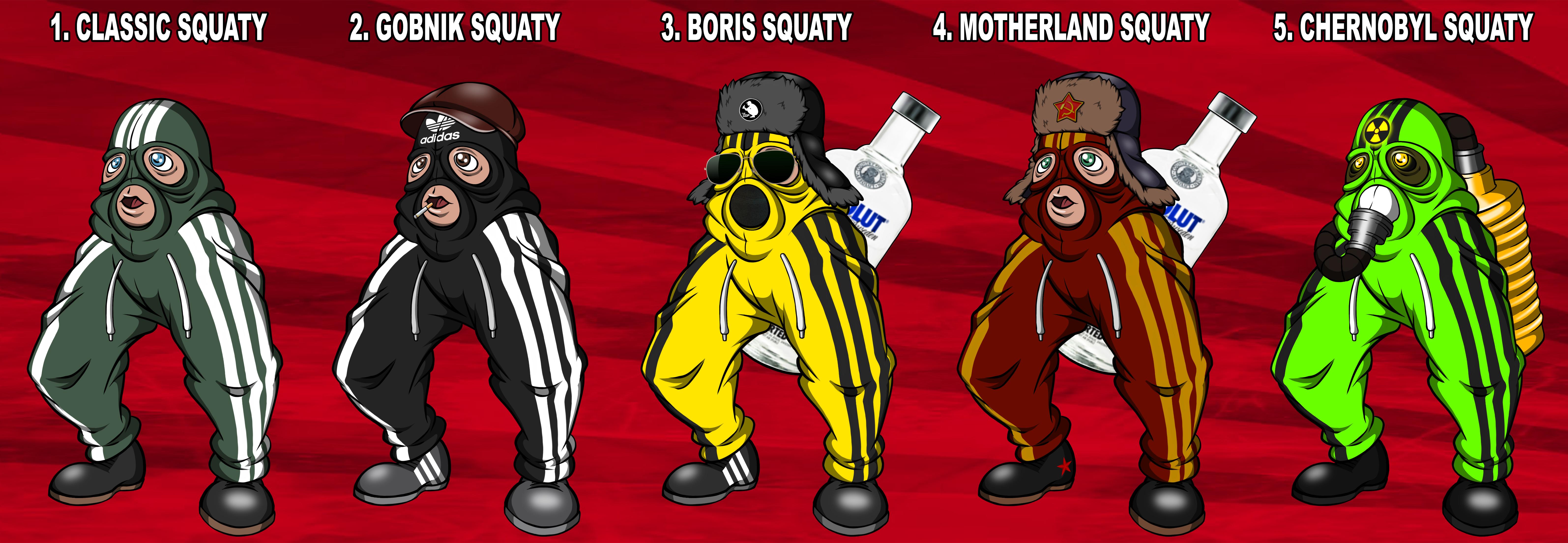 Meet The Squady 1 Cheeki Breeki Know Your Meme