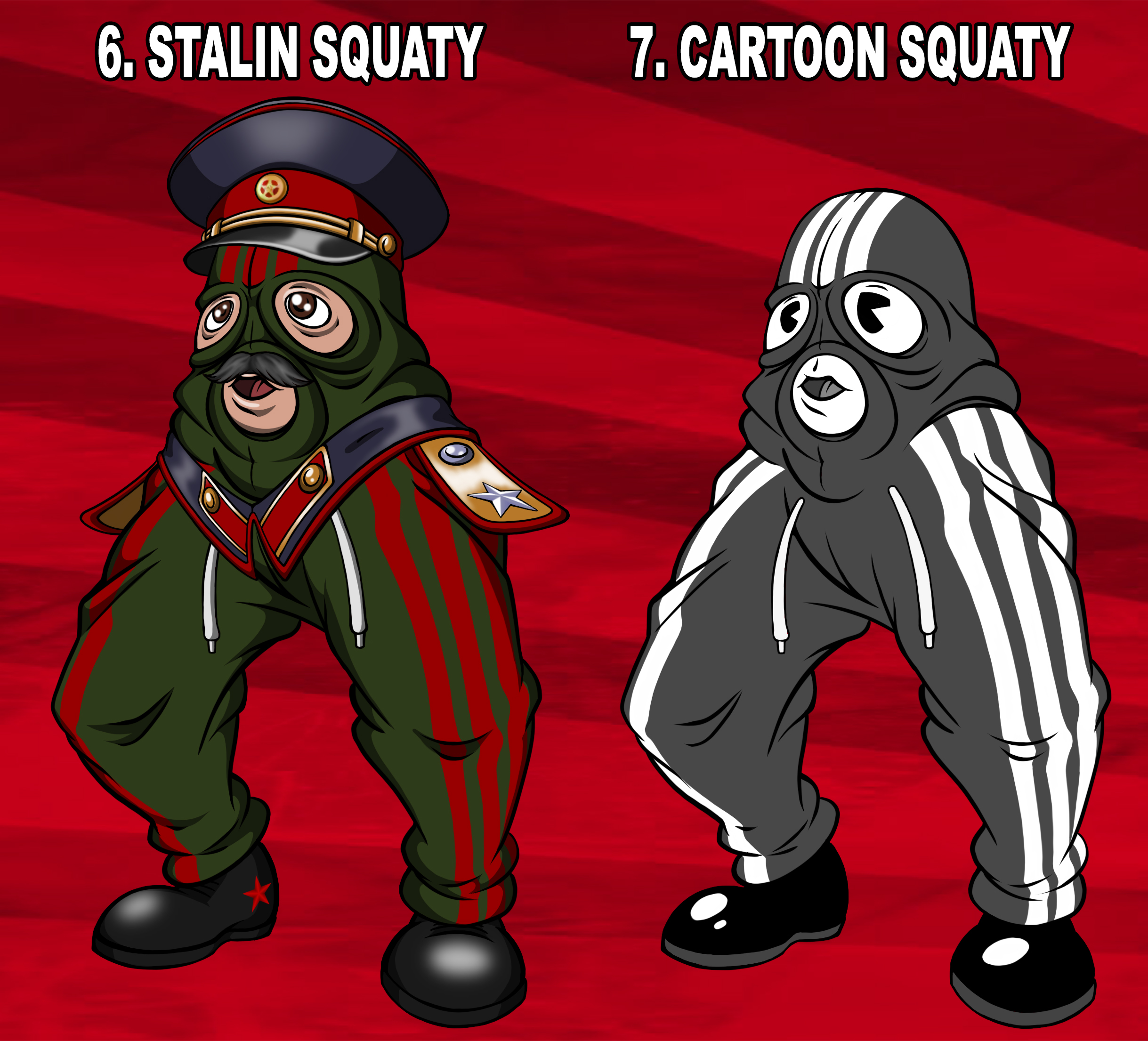 Meet The Squady 2 Cheeki Breeki Know Your Meme