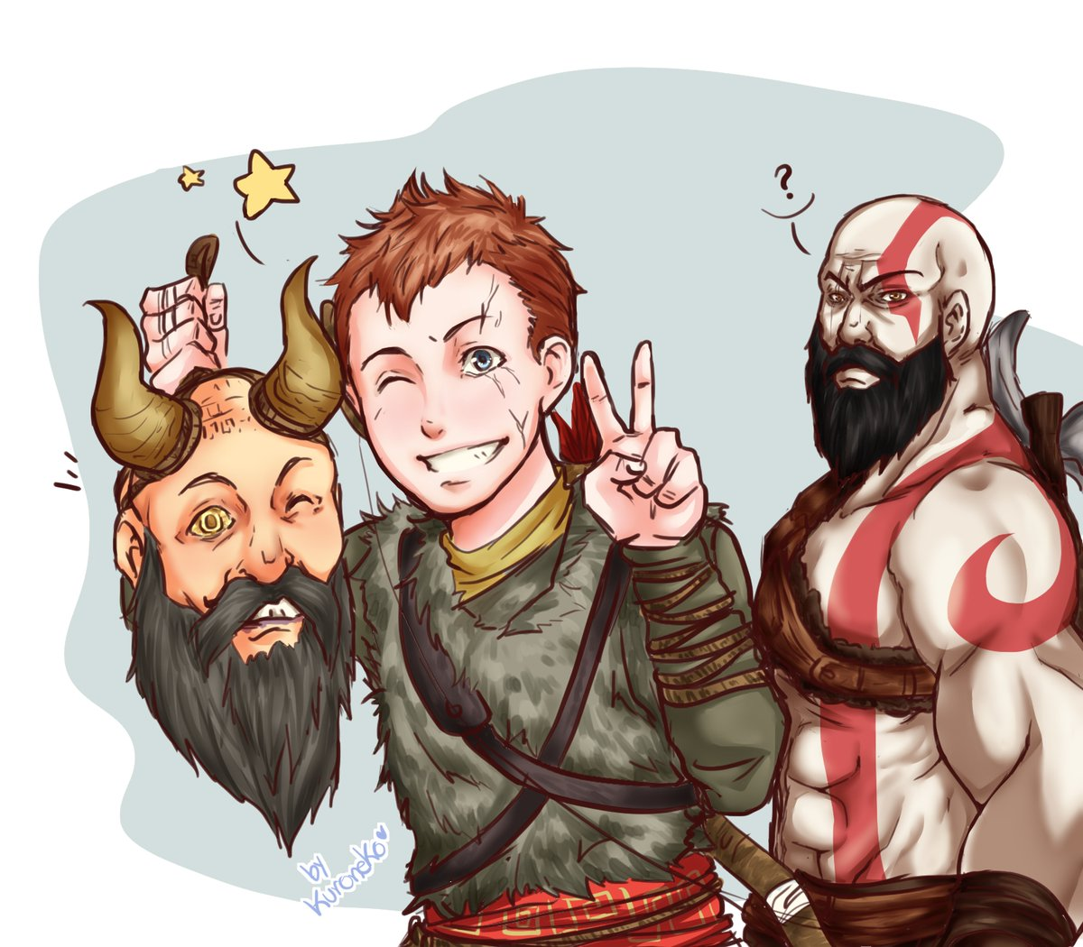 Head And Boy God Of War 2018 Know Your Meme