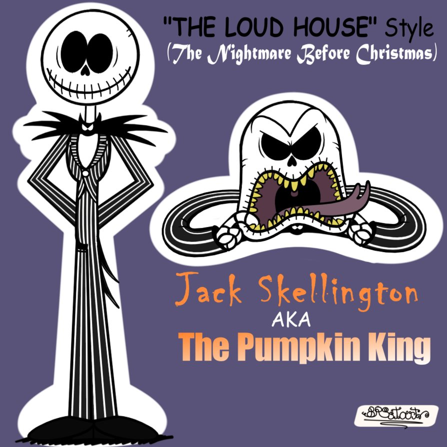 Jack Skellington (The Loud House styled) | The Loud House | Know ...
