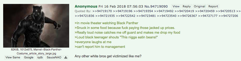 Any Other White Bros Get Victimized Like Me This Nigga Eating