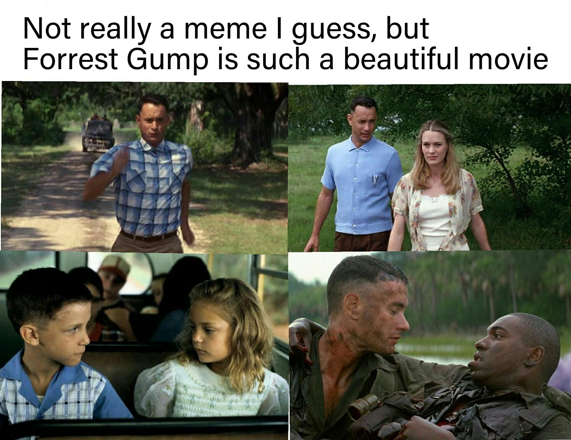 Forrest Gump Is A Beautiful Movie Loss Know Your Meme