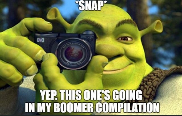 Image result for OK Boomer meme collection