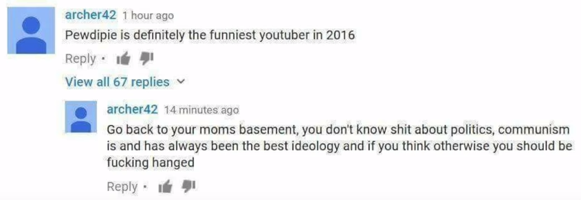 So, how exactly is YouTube comment section?