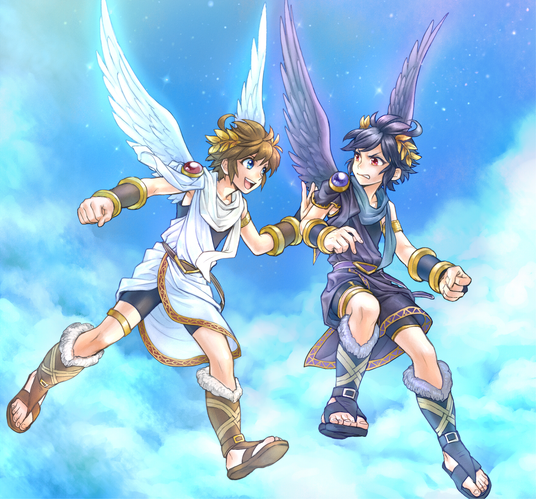 Super Smash Bros For Nintendo 3DS And Wii U Kid Icarus Uprising