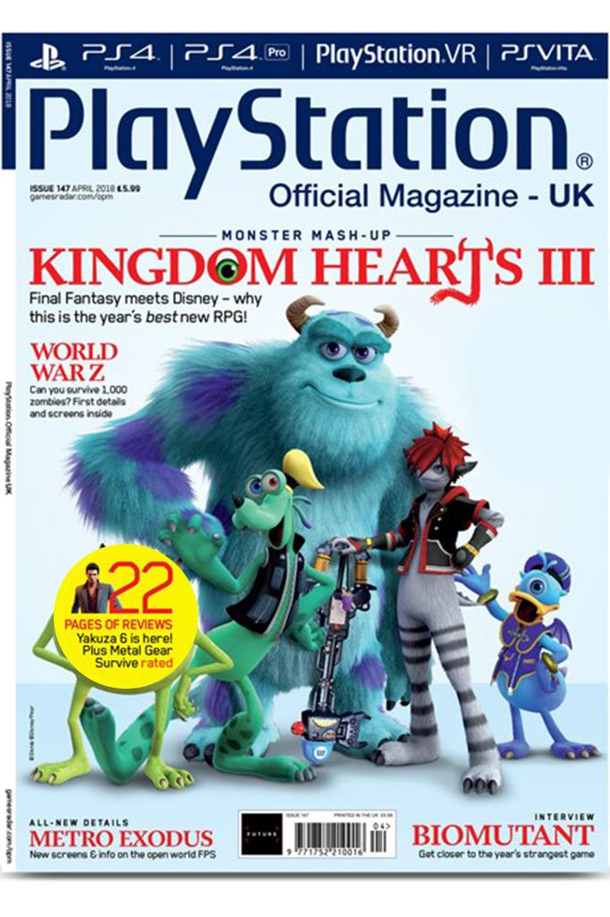 Cover of Sony PS4   Kingdom Hearts III   Know Your Meme