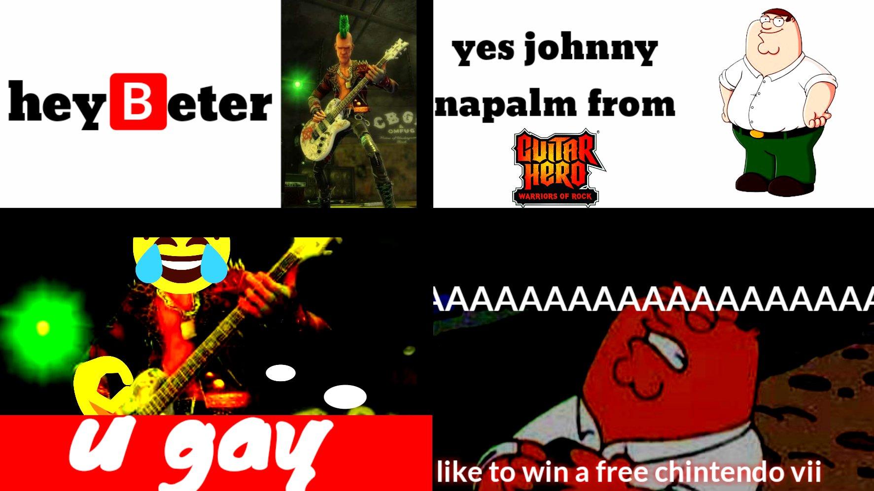 johnny napalm warrior