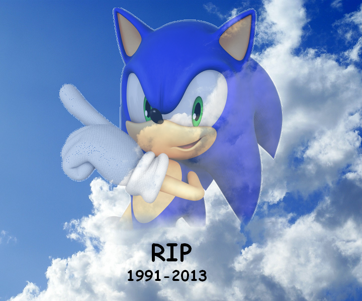 Deviantart Post I Can T Believe Sonic The Hedgehog Is Fucking Dead Know Your Meme