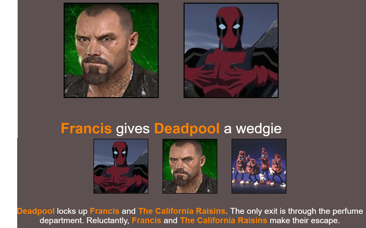 Wrong Francis | Hunger Games Simulator | Know Your Meme