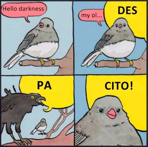 Screaming Crow Meme
