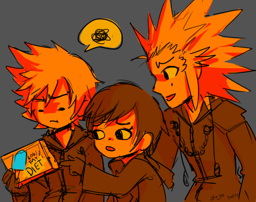 Roxas Bought The Wrong Kind Kingdom Hearts Know Your Meme