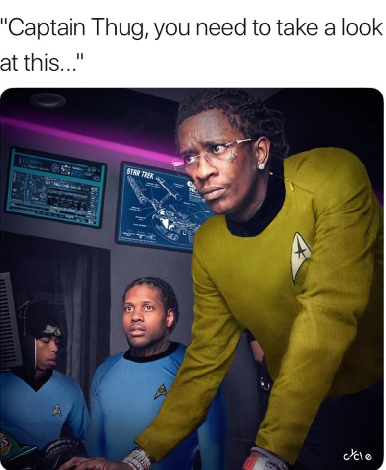 Captain Thug Young Thug And Lil Durk Troubleshooting Know Your Meme