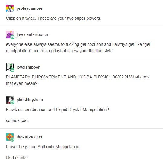 Superpowers | Tumblr | Know Your Meme