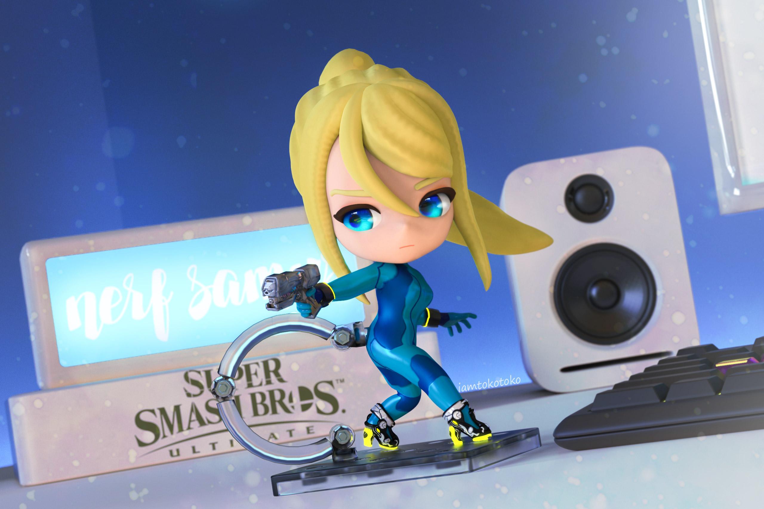 Zero Suit Samus Super Smash Brothers Ultimate Know Your Meme