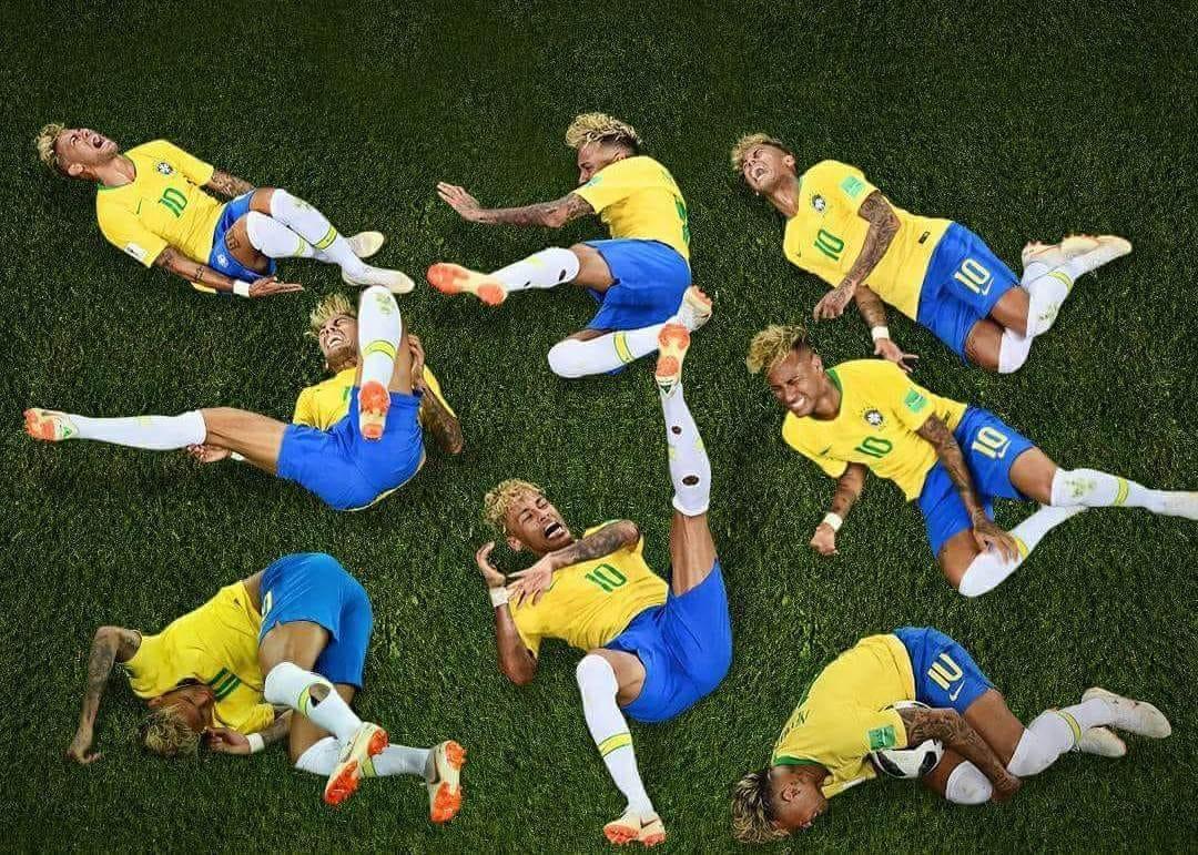 Ini Gan, Waktu yang Neymar Habiskan Untuk Mengerang Kesakitan di Lapangan