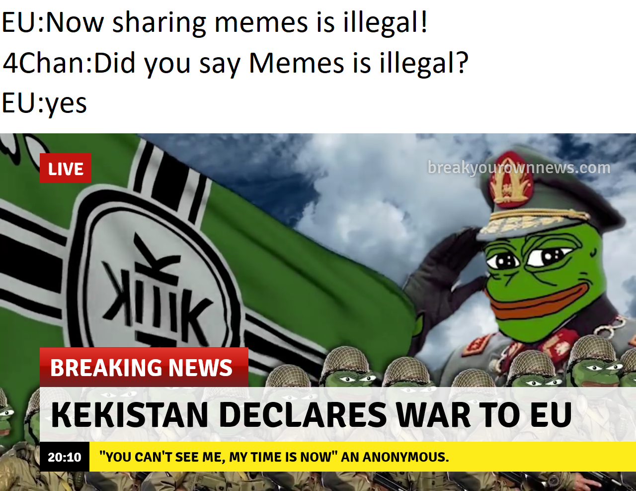 Can you look at memes in europe