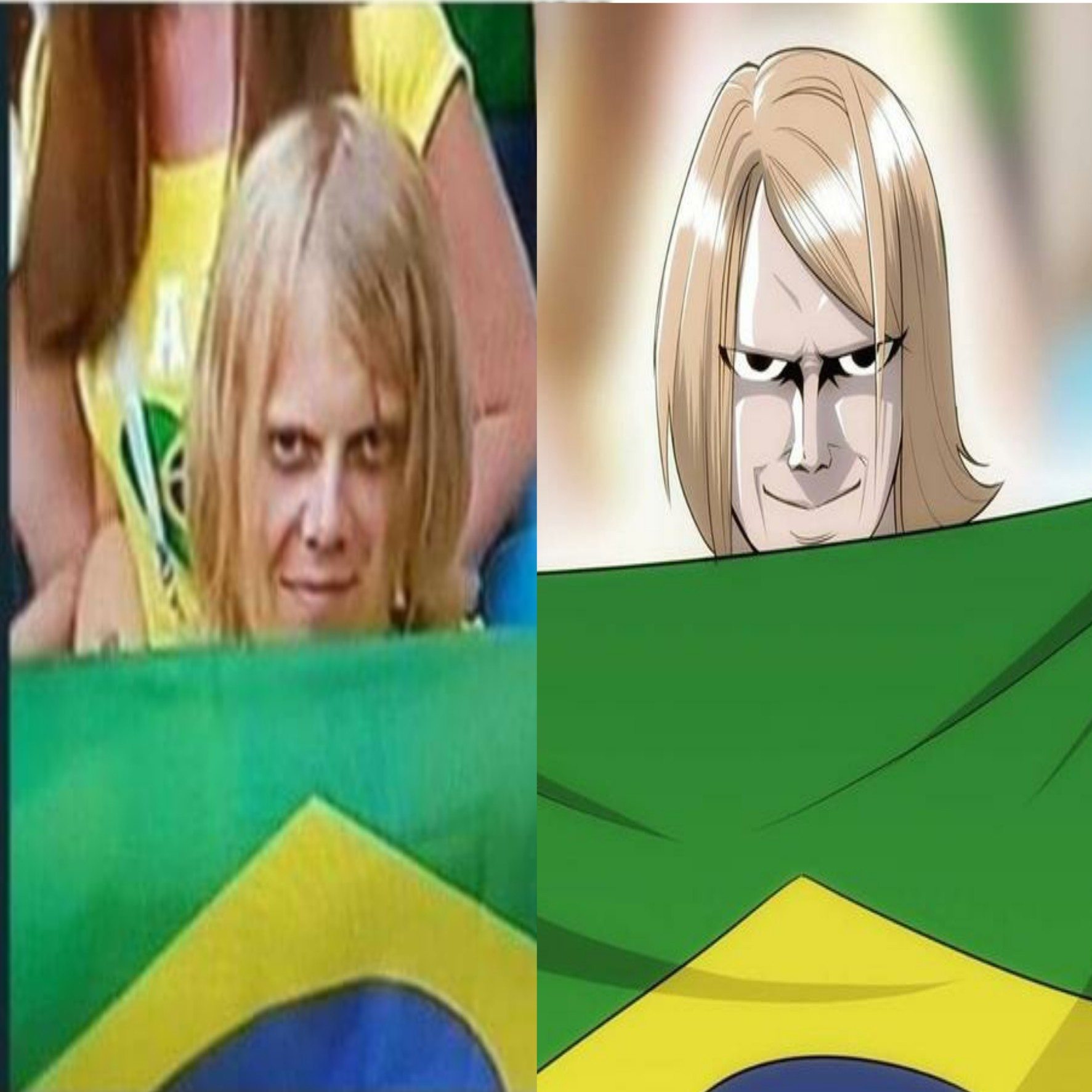 2018 fifa world cup russia sinister brazilian fan becomes meme