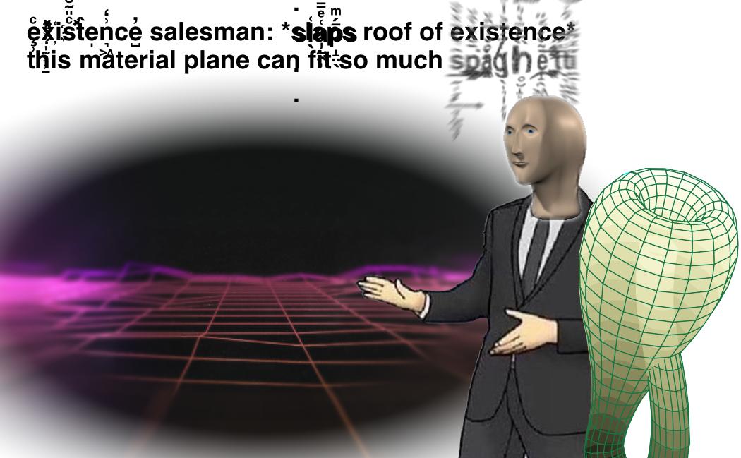 Existence Salesman Slaps Roof Of Car Know Your Meme