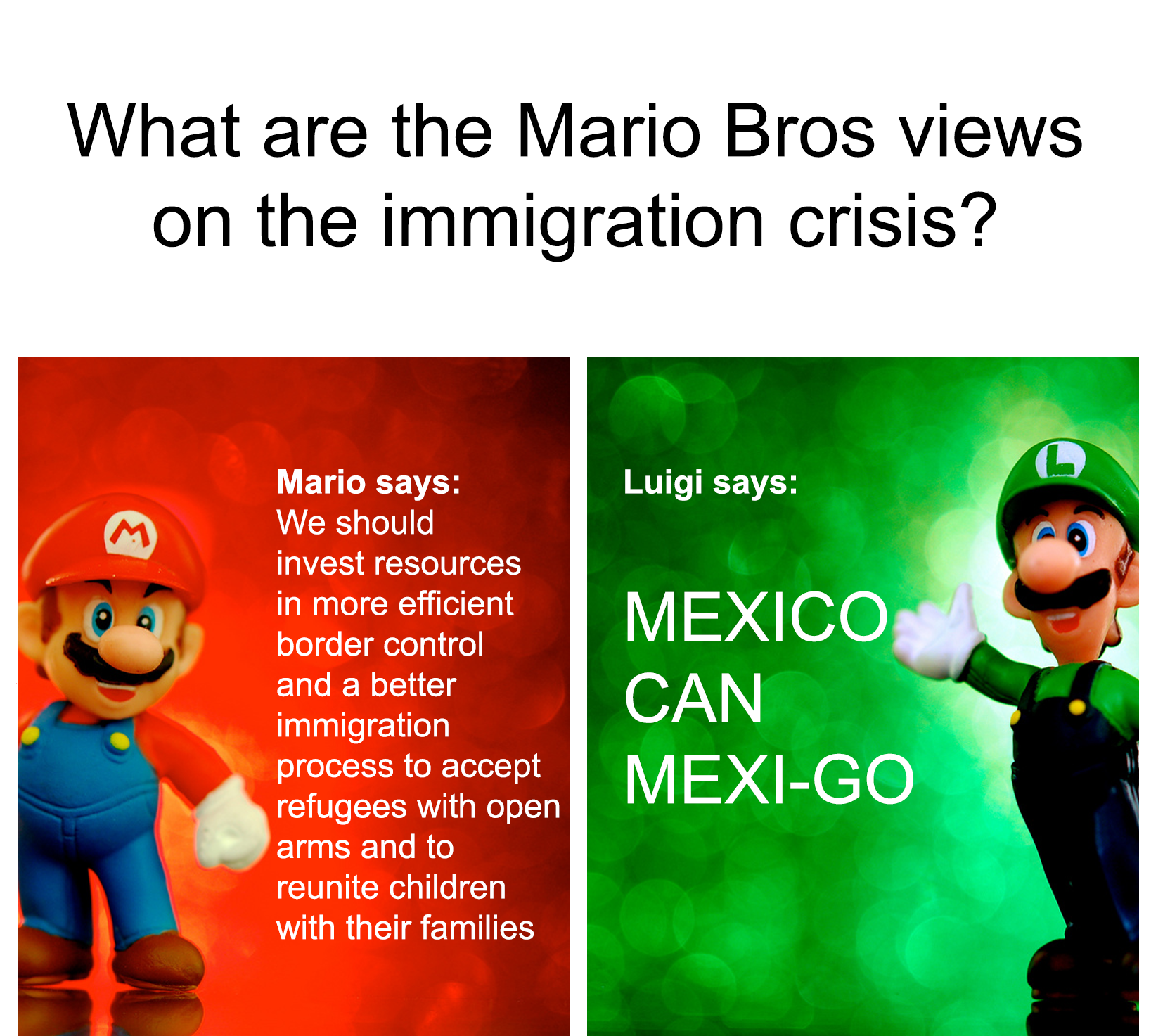 Who Do You Side With Mario Bros Views Know Your Meme