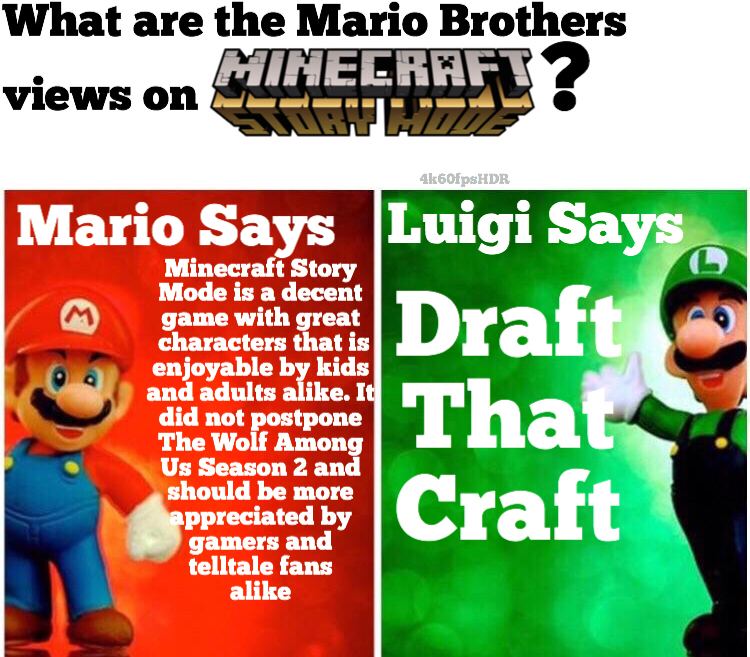The Wolf Among Us Mario Bros Views Know Your Meme