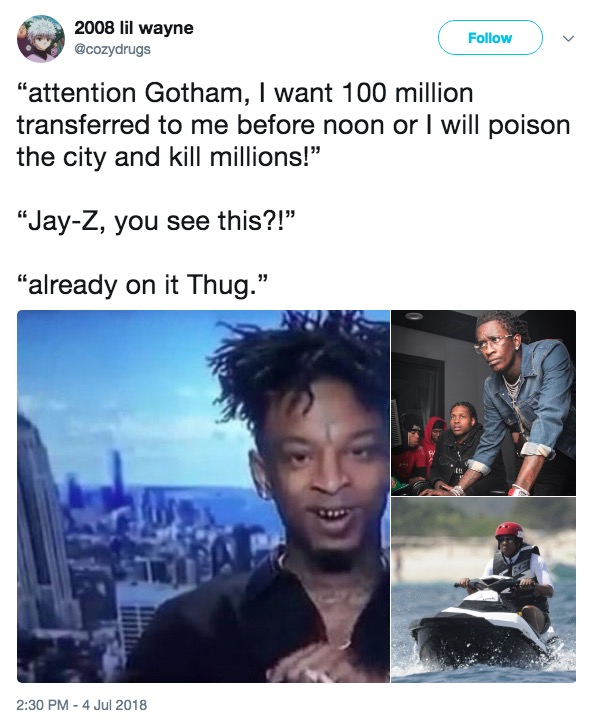 Top 10 Memes Of 2018 10 Young Thug On The Pc The Gateway