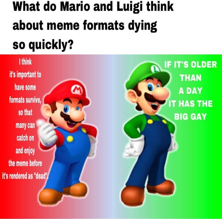 Meme Formats Mario Bros Views Know Your Meme