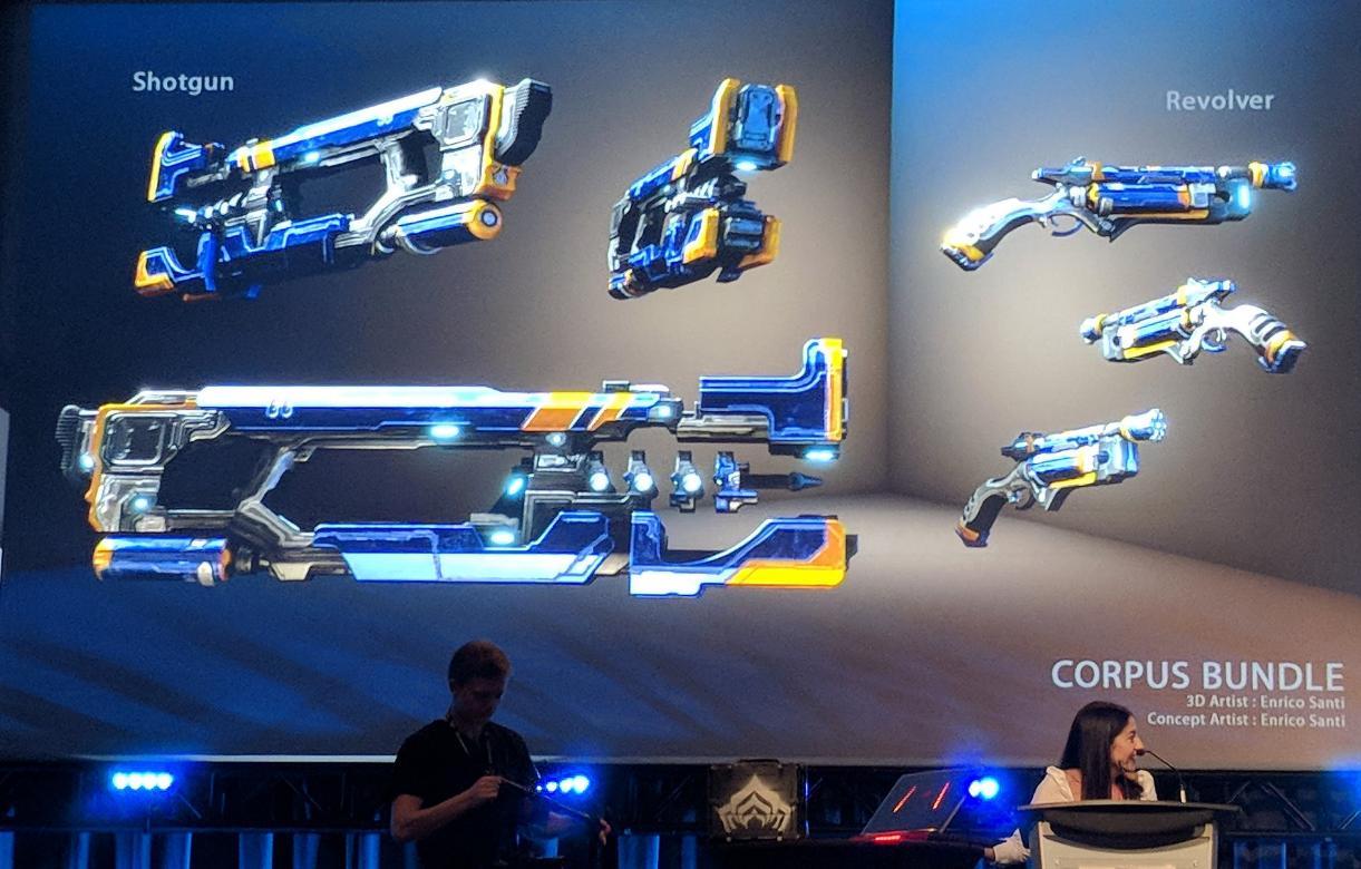 New Corpus Shotgun and Revolver  (seen at tennocon