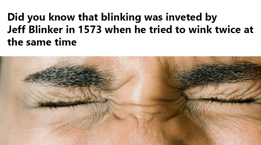 when to wink