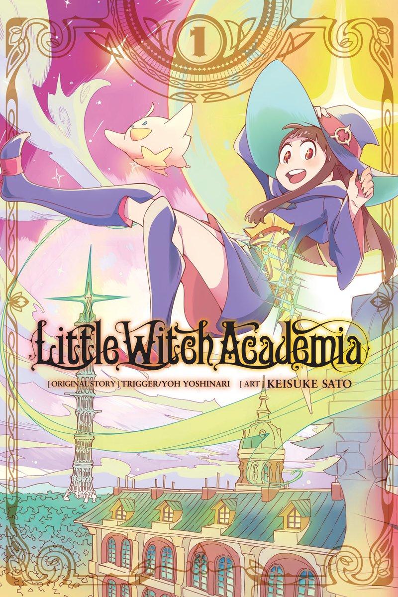 Little witch academia little witch academia tv anime adaptation manga cover