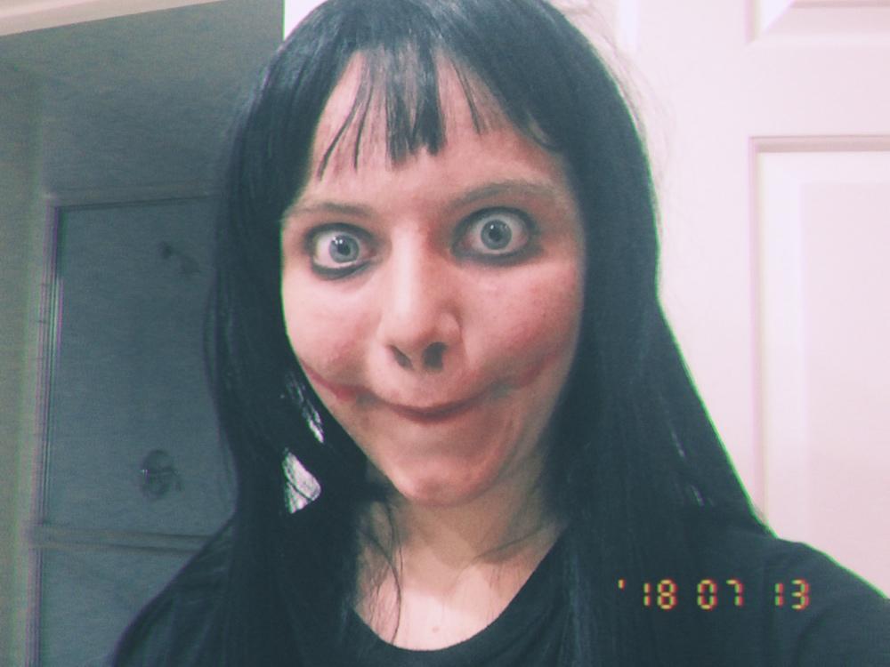 Momo Cosplay | Momo Challenge | Know Your Meme