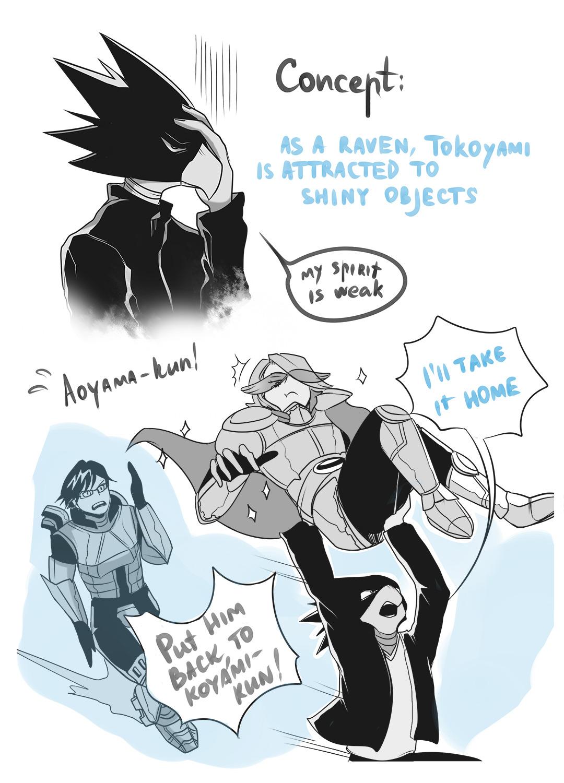 Ravens Like Shiny Things My Hero Academia Know Your Meme