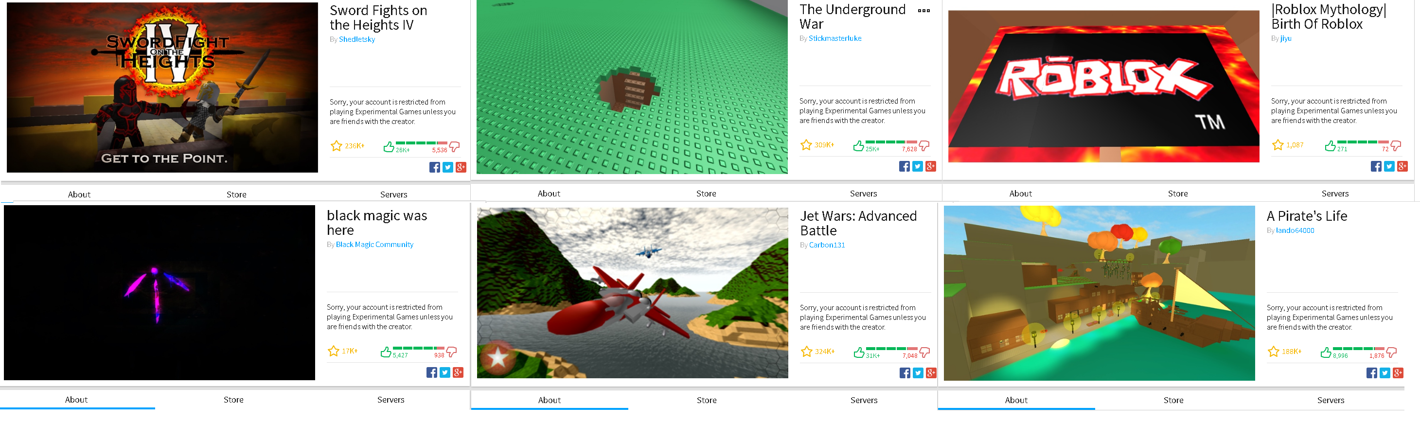 And By That Half Of Our Games Are Gone Experimental Mode Update - the underground roblox mythology sword fights on the heights iv by shedletsky war by stickmasterluke!    birth