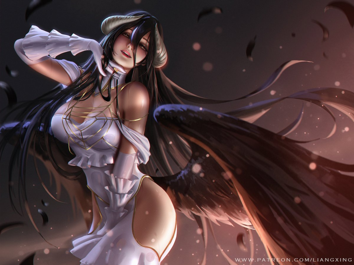 Albedo By Liangxing Overlord Know Your Meme
