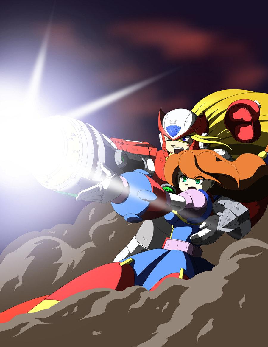 Zero x Iris | Mega Man / Rockman | Know Your Meme