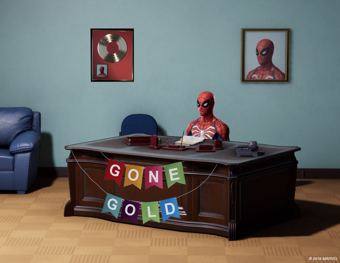 Spiderman Meme Desk Glass Desk Amazon