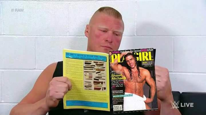 Share your shawn michaels in playgirl sorry, that