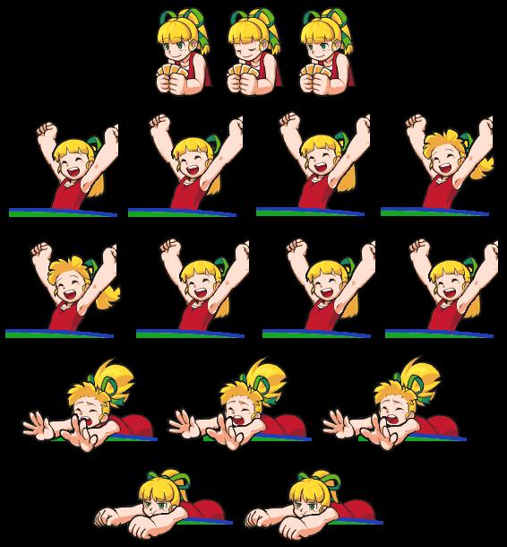 Rockman Poker Roll Sprite Sheet Mega Man Rockman Know Your Meme
