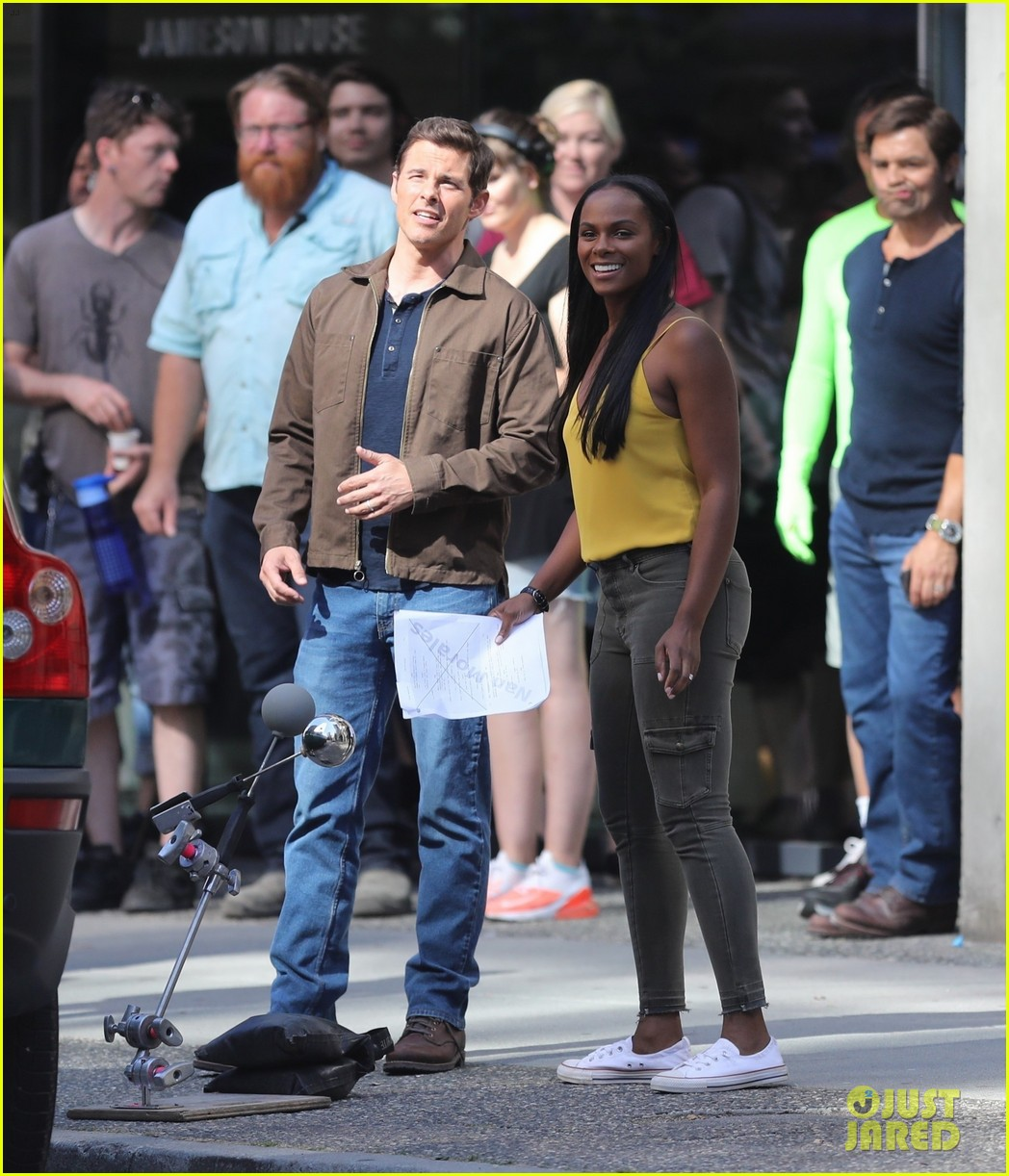 Tika And James Spotted On Set Of The Sonic Movie Sonic The