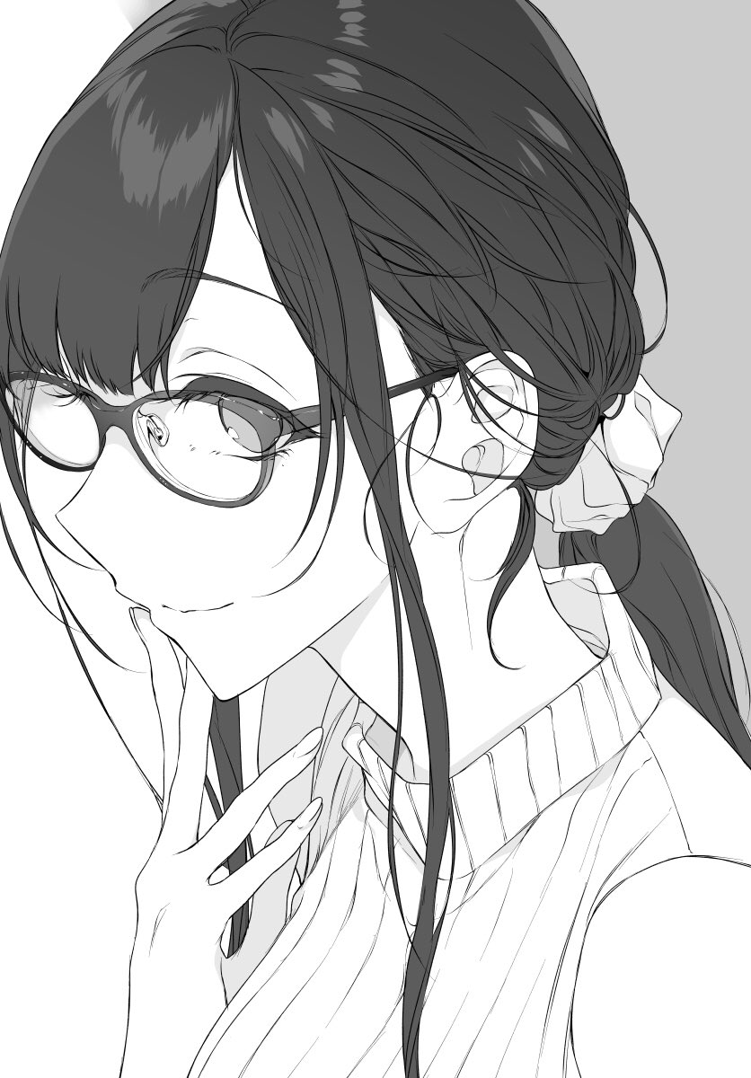 Chiyo Glasses Monster Girls Know Your Meme
