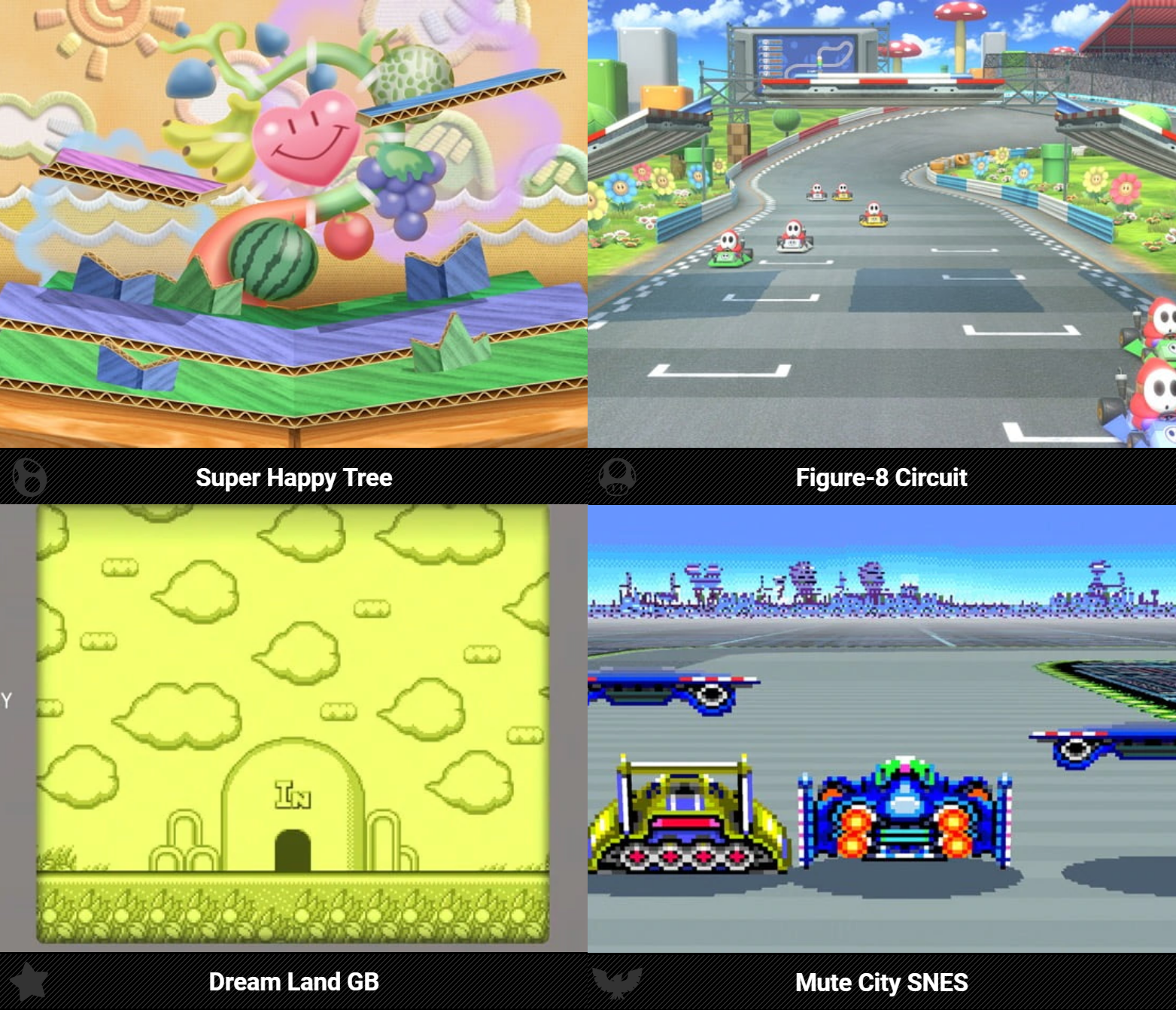 Some returning stages got new names | Super Smash Brothers Ultimate