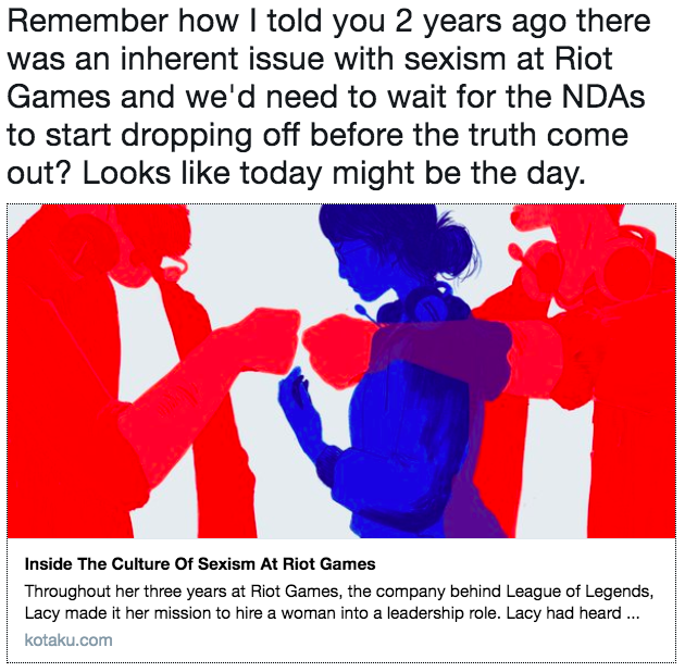 Resultado de imagem para riot sexism