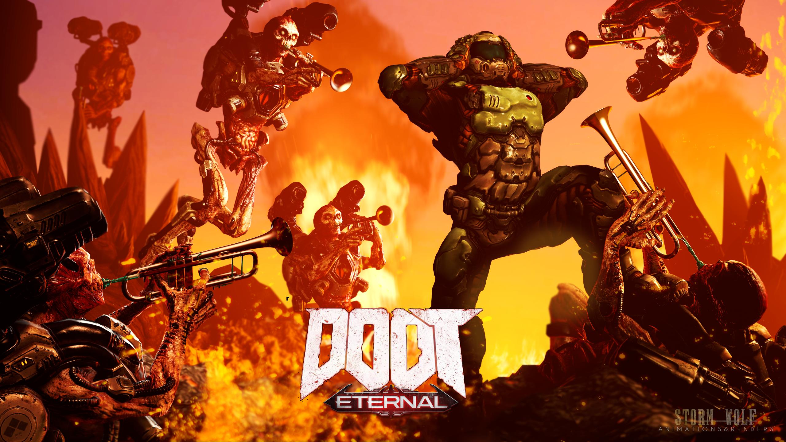 Eternal Doot! by TheStormWolf | Doom Eternal | Know Your Meme