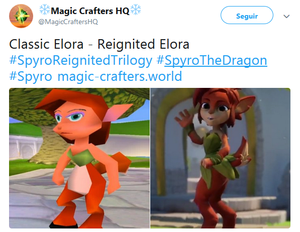 Classic Elora Reignited Elora Spyro The Dragon Know Your Meme