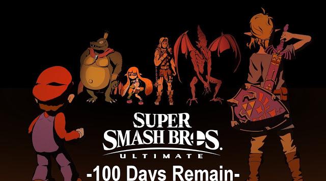 Super Smash Brps 100 Davs Remain U L T I M A T E