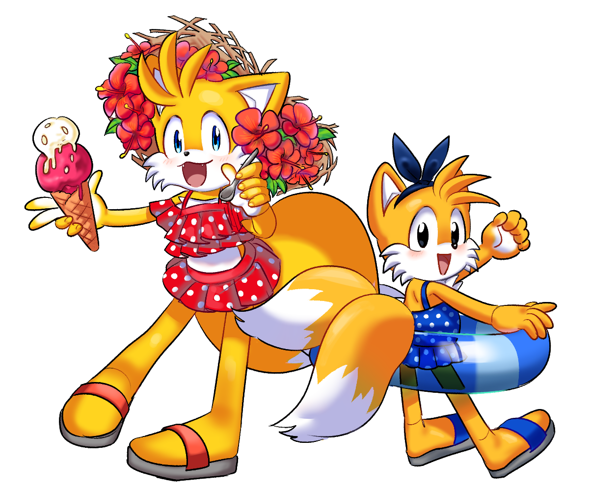Tails And Classic Tails Sonic The Hedgehog Know Your Meme