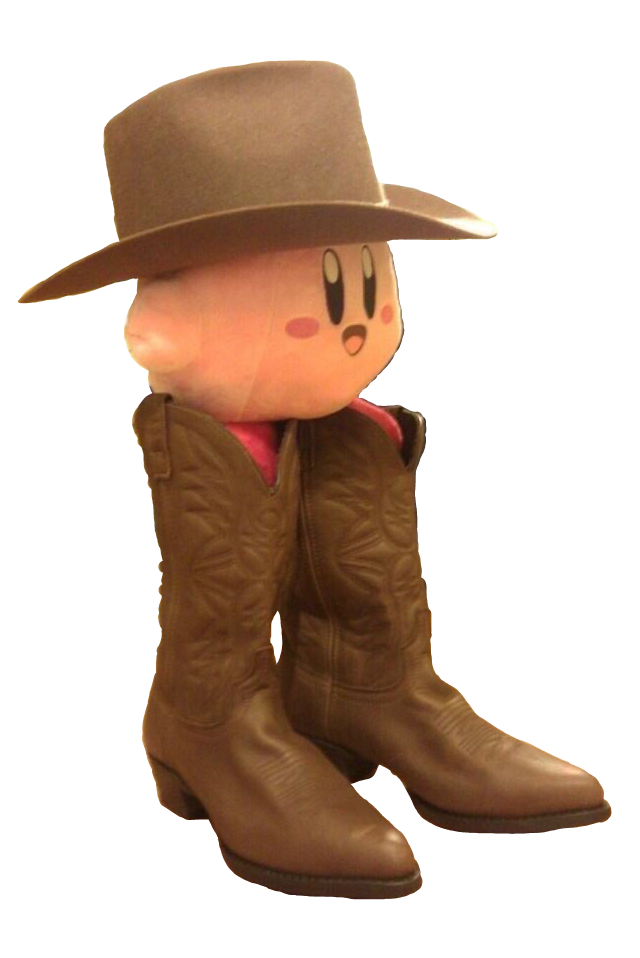 Cowboy Kirby Transparent Kirby Know Your Meme