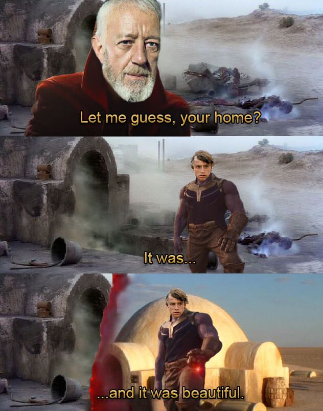 Tatooine Was Like Most Planets Let Me Guess Your Home Know