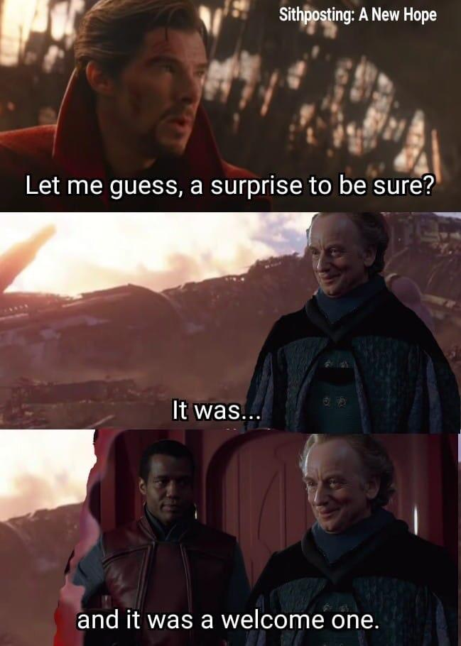 A Surprise To Be Sure