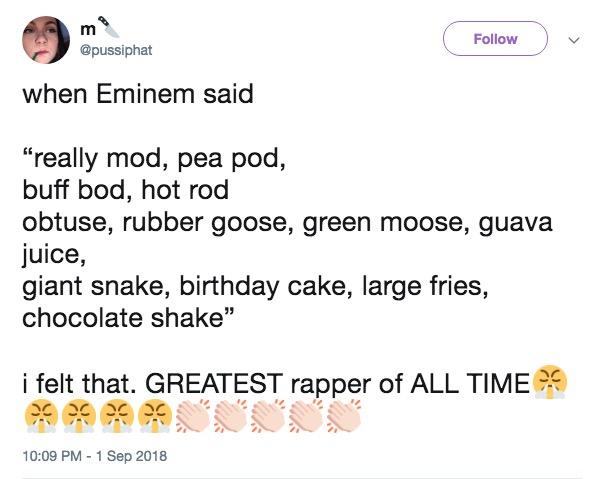 Greatest Rapper Alive   Eminem Lyrics Parodies   Know Your Meme