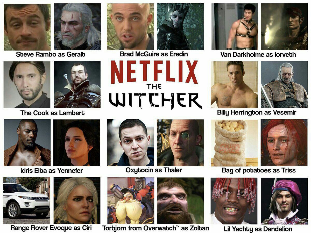 Netflix Witcher The Witcher Know Your Meme